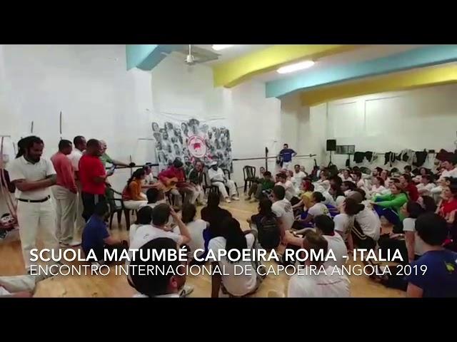 Homenagem ao Mestre João Grande - ROMA 2019