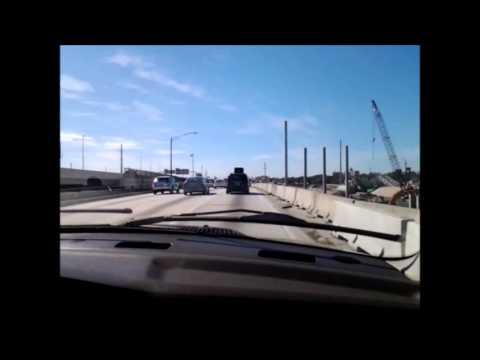 Drive through Downtown Tampa