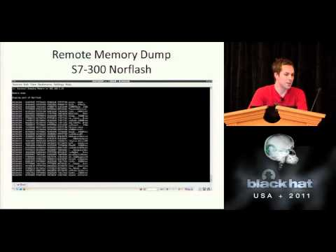 BlackHat 2011 - Siemens Simatic S7 PLC Exploitation, S7-FU with Metasploit