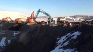 Dance of the Excavators - Interior Heavy Equipment School