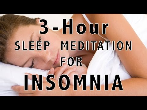 3-Hour Yoga Nidra Sleep Meditation for Hard Case Insomniacs - Body Scan Technique