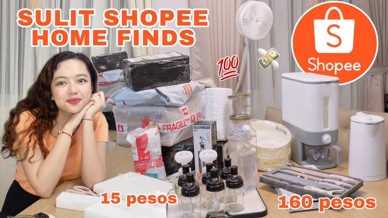 SULIT SHOPEE HOME FINDS 💯 | Shopee 9.15 Payday Sale