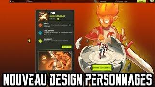 NOUVEAUX DESIGNS DE PERSONNAGES !