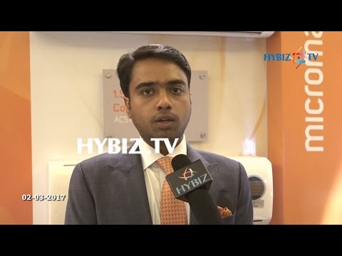 Rohan Agarwal | Micromax Air Conditioners Launch | Hyderabad | hybiz