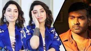 I Don't like Vijaysethupathi's Acting | Tamannaah Funny Interview | Kanne Kalaimane