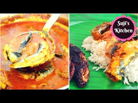மண மணக்கும் மத்தி மீன் குழம்பு மற்றும் மீன் வறுவல் Non Veg Lunch Routine Sardine Fish Curry