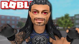 ROBLOX Roman Reigns haunts me in my dreams...