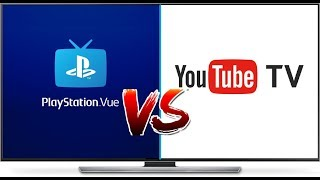 Youtube Tv Vs Playstation Vue Best Streaming Services Of 2019 Ep 4 Youtube