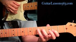 Red Hot Chili Peppers - Under The Bridge Guitar Lesson Pt.1 - Intro & Verse One