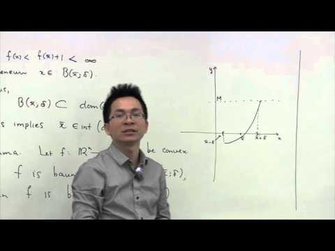 3.1 Continuity of Convex Functions - Pt 1