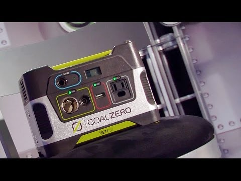 Goal Zero Yeti 150 - Solar Generator Review