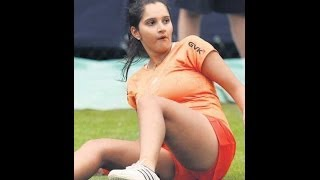 What does Sania Mirza love more - tennis or ramp?