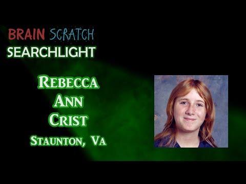 Rebecca Ann Crist on BrainScratch Searchlight