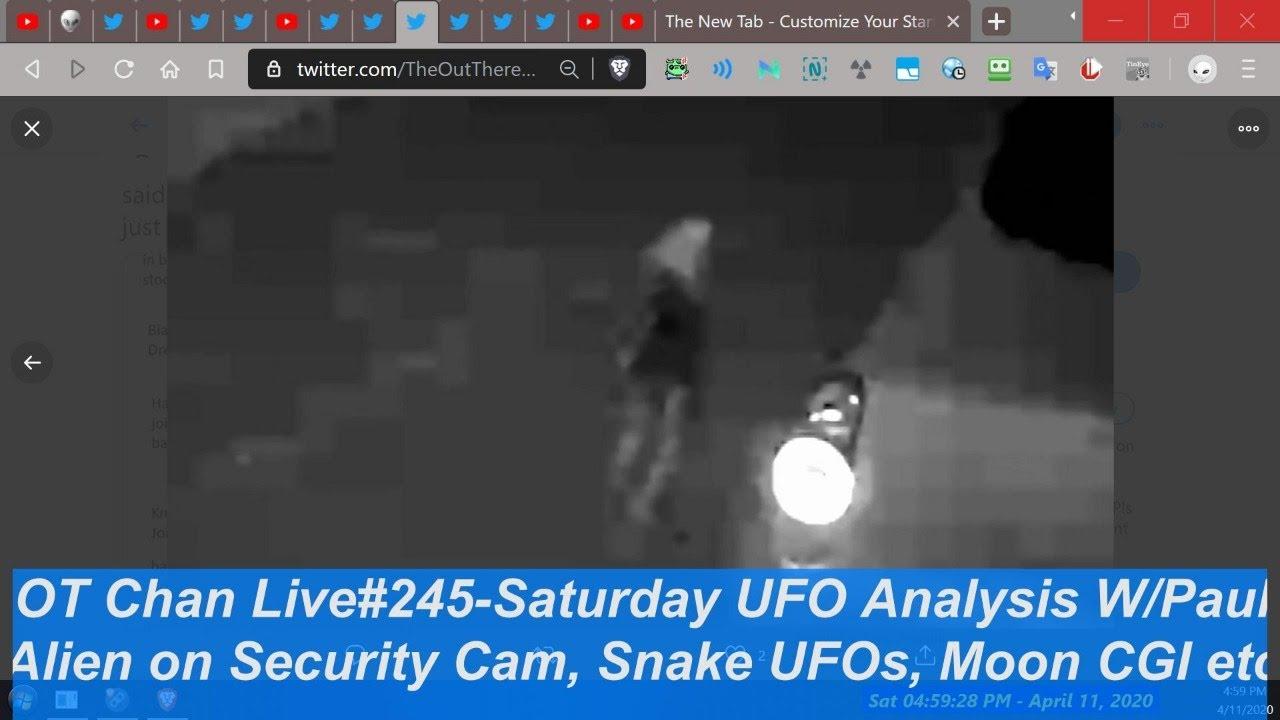 Saturday Live UFO Topics & Vid Analysis - Secureteam +Nightcrawler + Viral Vids) - OT Chan Live#