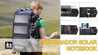Review Carregador solar USB e notebook