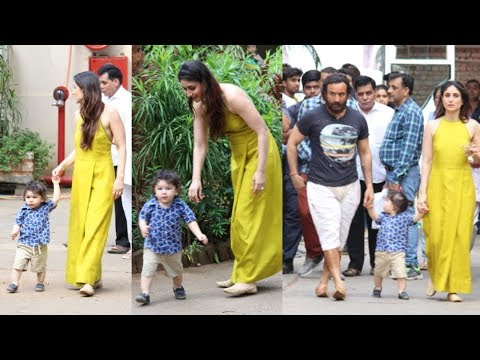 Kareena Kapoor Khan Plays With Son Taimur...