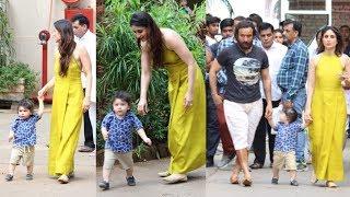 Kareena Kapoor Khan Plays With Son Taimur Ali Khan In A Most Adorable Way | Saif Ali Khan