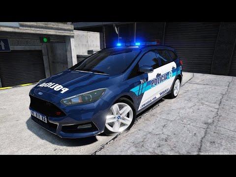 GTA V LSPDFR: Dia 48 Ford Focus ST Policia Federal de Argentina