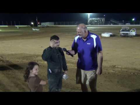 Trail-Way Speedway 358 Sprint Car Hard charger 07-01-16