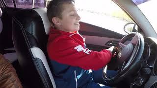 УЧУСЬ ЕЗДИТЬ НА МАШИНЕ...LEARNING TO DRIVE A CAR
