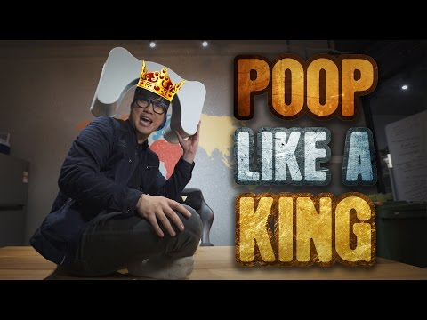 Poop Easily - The Squatty Potty