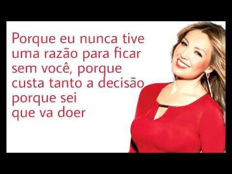 Thalia ~ Equivocada en portugués (con letra)