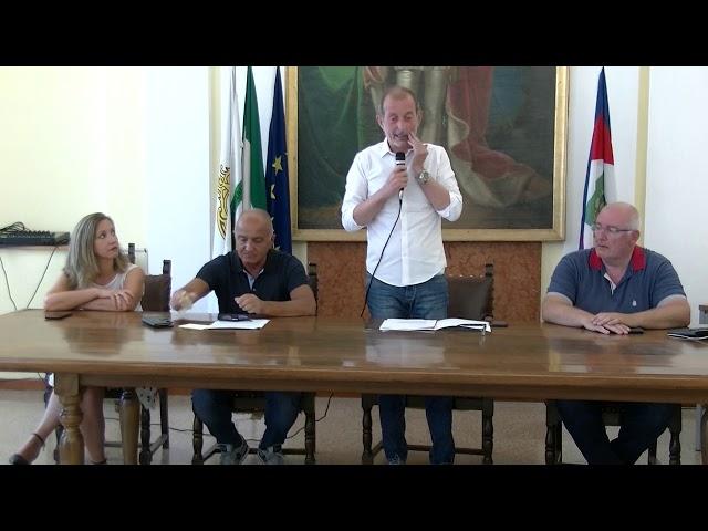 Conferenza stampa richieste Distretto Socio Sanitario