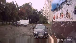 Авто приколы на дорогах, нарезка, видео приколы №134