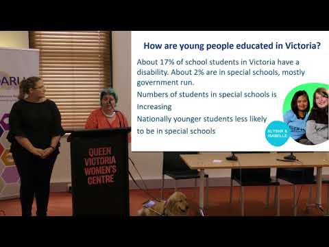 The students perspective of education in Victoria