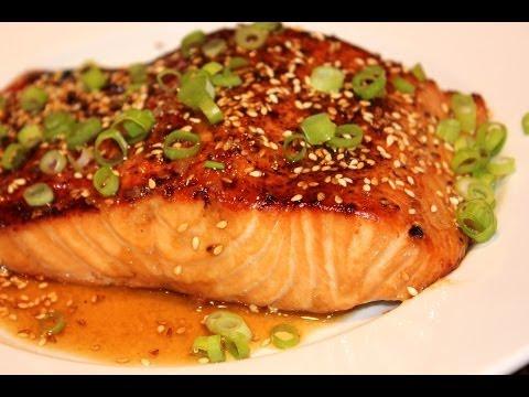 Salmon Sesame Ginger -- Weight Control -- Magic Plan