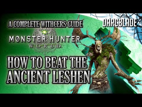 How to Beat the Ancient Leshen : Monster Hunter World : MHW thumbnail
