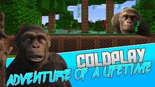 Coldplay - Adventure Of A Lifetime Minecraft Wireless Noteblock Song