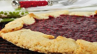 Raspberry Crostata Recipe Demonstration - Joyofbaking.com