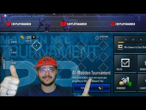 CHF's Saturday Night Stream: All-Madden Tournament & Live LvL Drives