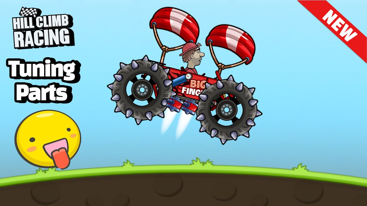 Hill Climb Racing New TUNING PARTS Update v1.50.0