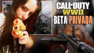 COD WWII BETA PRIVADA JUGANDO EN DIRECTO - Call Of Duty WWII