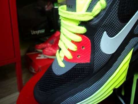 size 40 5489b 05117 Nike Air Max 90 LUNAR C 3.0 - 2014 (Collection)(Volt Red Black Grey)(LUNAR  PACK)(Part 52)