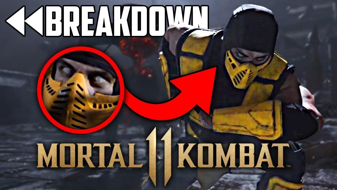 Mortal Kombat 11: Official Announce Trailer FULL Breakdown!! - YouTube