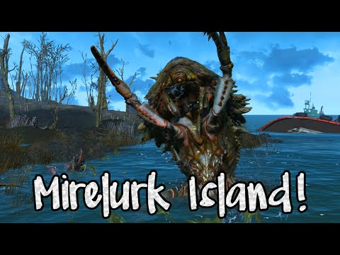 Fallout 4 EXTRA! CLEARING MIRELURK ISLAND! (Best Build Area in The Game!)