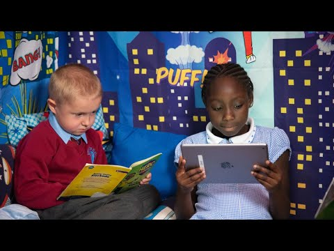 Project X Hero Academy case study at Ryders Hayes Primary School