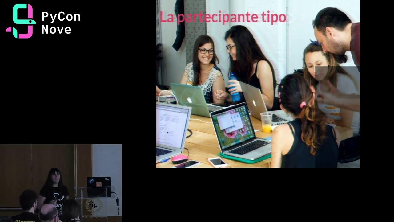 Image from Django Girls Italia: entrare in contatto con le donne tecnologiche, davvero