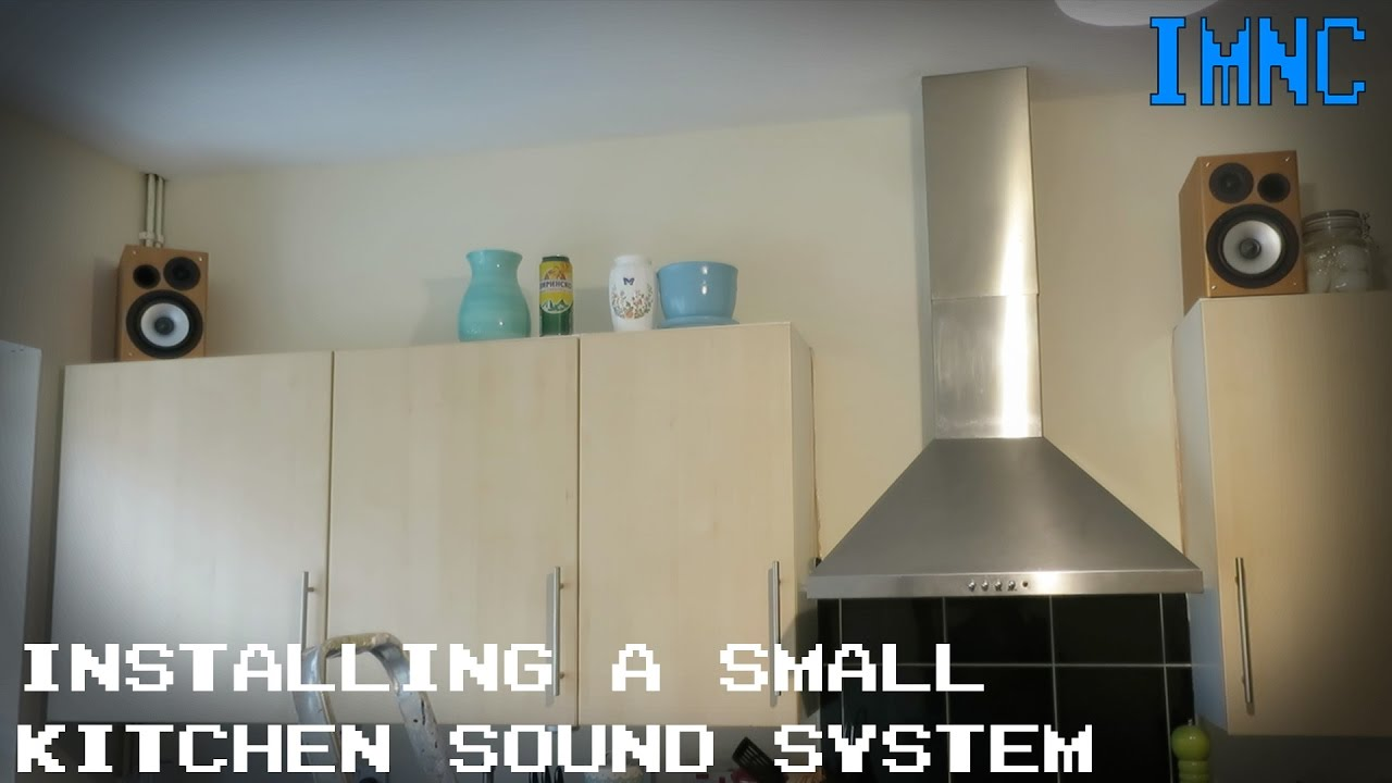 Installing A Small Kitchen Sound System Imnc You. View In Gallery Original  Maestrokitchen Sound 100 System By Harman Kardon