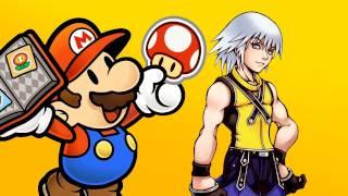 Kingdom Hearts 3D Trailer, Paper Mario 3DS Screenshots & Other Nintendo 3DS News