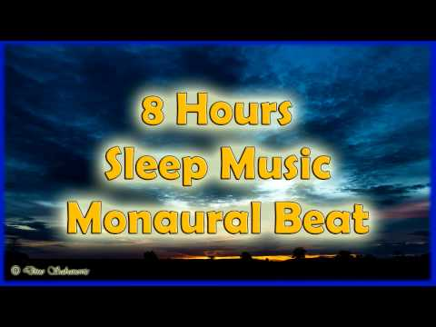 Maia Brainwave - 8 Hours Video for Sleep Monaural beat, Heal