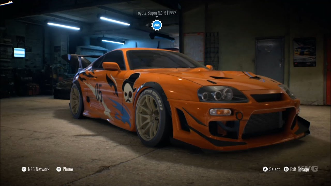 Need For Speed 2015 Toyota Supra Sz R 1997 Customize