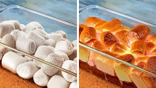 15 Yummy Ideas With Marshmallow And Caramel  Dessert Decoration Hacks And Cookie Recipes!