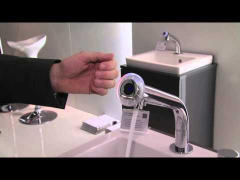 miscea sensor faucet systems at ISH 2013 Frankfurt