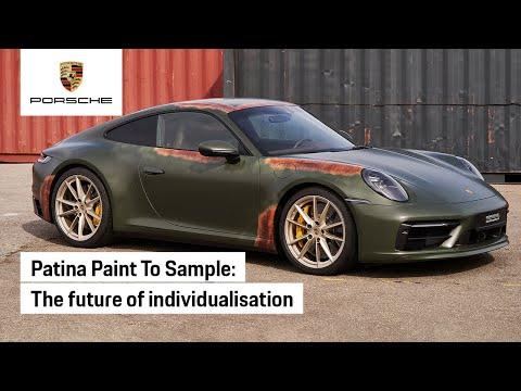 Porsche Exclusive Manufaktur & Porsche Classic Present: Patina Paint To Sample