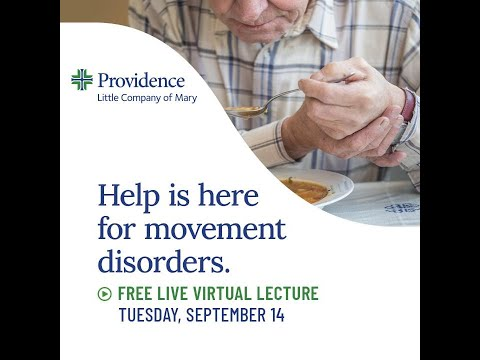 PLCM Help is here for movement disorders Community Lecture