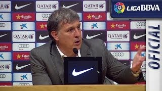 Press Conference Tata Martino after FC Barcelona (2-1) Athletic Club - HD